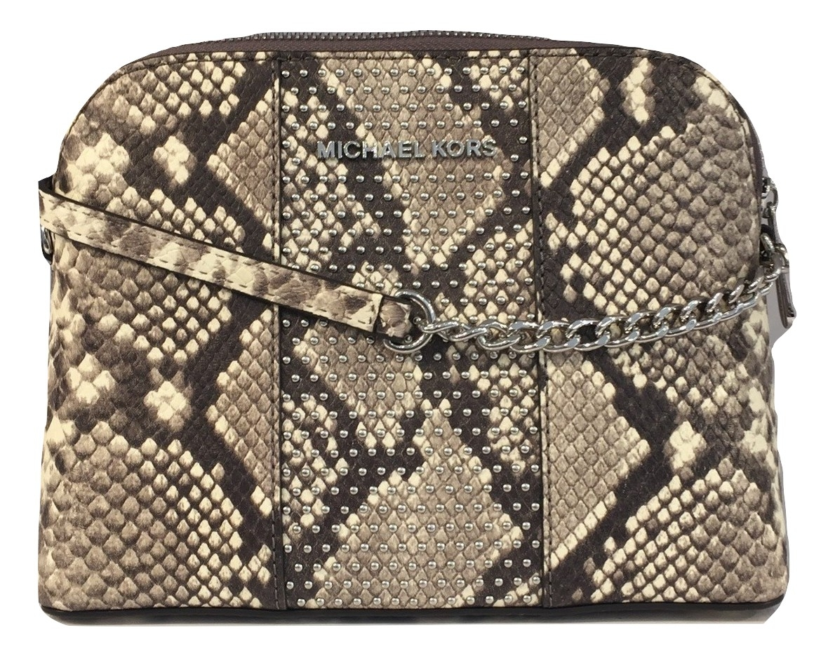967dc2965f87 123456789101112 105f4 1b5a9; wholesale michael michael kors micro stud  cindy lg dome crossbody natural 6e9b7 1c717